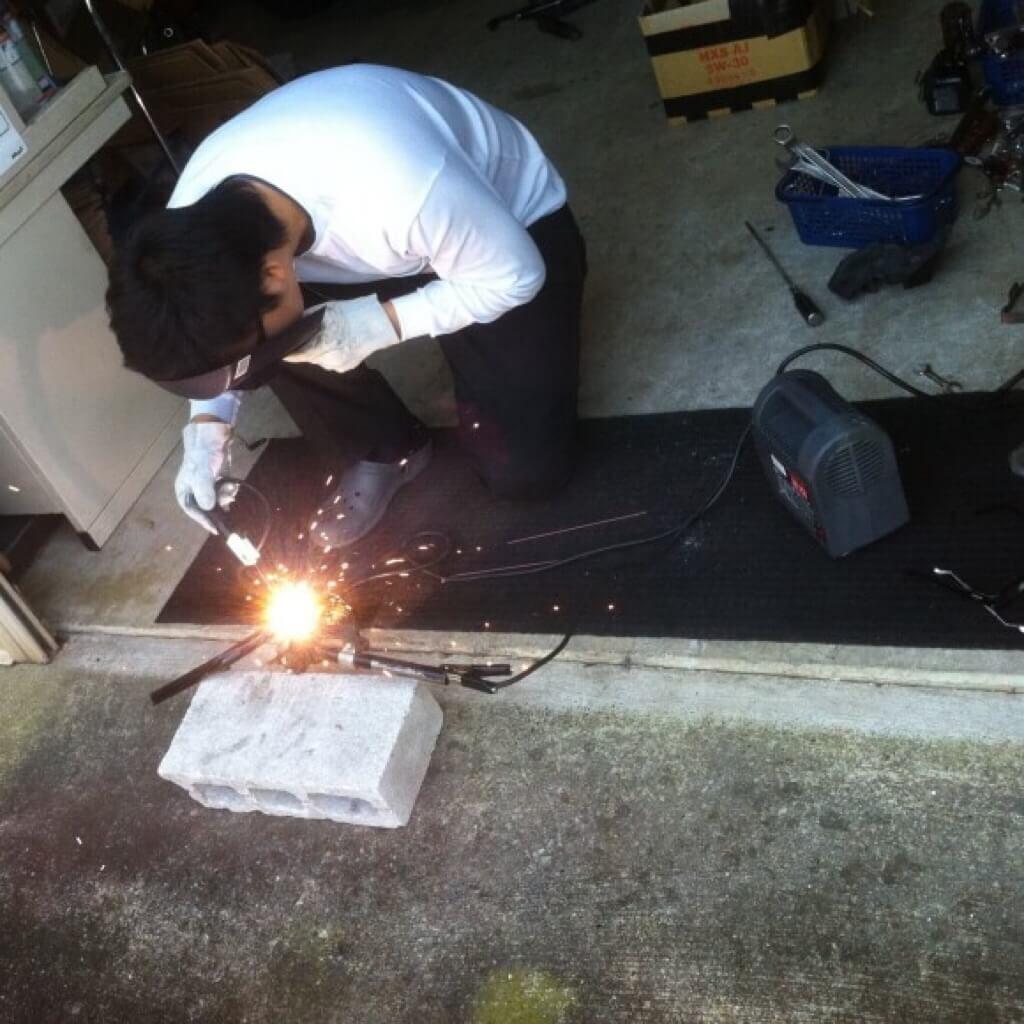 発泡ウレタン断熱材は火気厳禁と火災注意